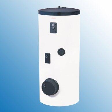Greitaeigis pastatomas netiesioginio šildymo vandens šildytuvas saulės kolektorių sistemai Dražice OKC 200 NTRR/SOL