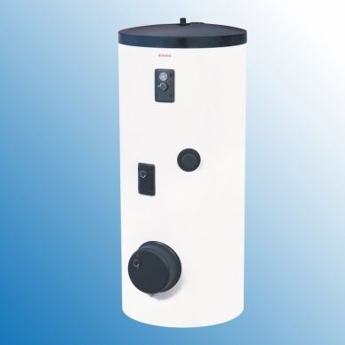 Greitaeigis pastatomas netiesioginio šildymo vandens šildytuvas saulės kolektorių sistemai Dražice OKC 300 NTRR/SOL