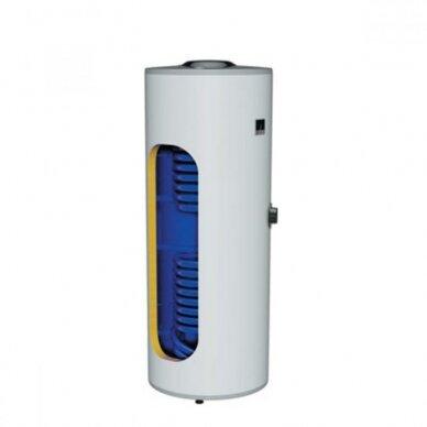 Greitaeigis pastatomas netiesioginio šildymo vandens šildytuvas saulės kolektorių sistemai Dražice OKC 300 NTRR/SOL 2