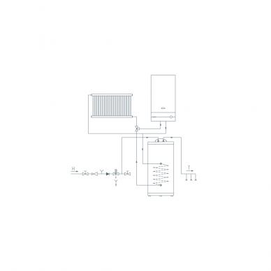 Pastatomas vandens šildytuvas Gorenje GV 150 3