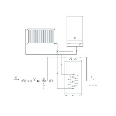 Pastatomas vandens šildytuvas Gorenje GV 200 3