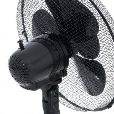 Pastatomas ventiliatorius Adler AD-7323(juodas) 3