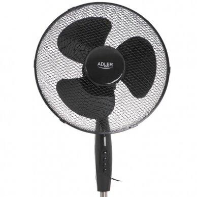 Pastatomas ventiliatorius Adler AD-7323(juodas) 5