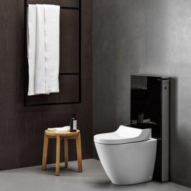 Pastatomas WC puodas ir išmanusis dangtis Geberit AquaClean Tuma Comfort 2