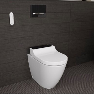 Pastatomas WC puodas ir išmanusis dangtis Geberit AquaClean Tuma Comfort