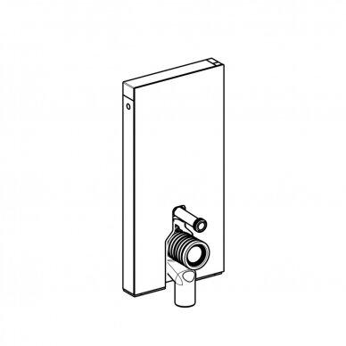 Pastatomo WC modulis Geberit Monolith, 101 cm 5