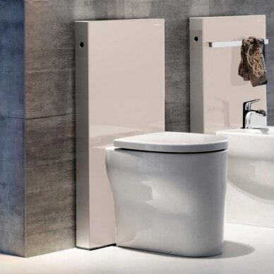 Pastatomo WC modulis Geberit Monolith, 101 cm (įv. spalvų) 3