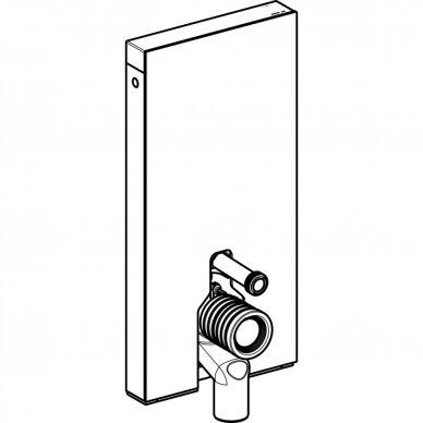 Pastatomo WC modulis Geberit Monolith Plus, 101 cm (įv. spalvų) 5
