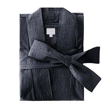Perkelio chalatas DecoFlux Kimono Casual Dark Grey