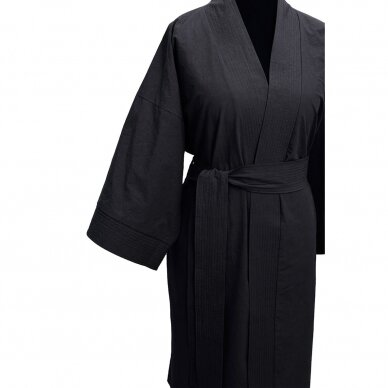 Perkelio chalatas DecoFlux Kimono Casual Dark Grey 3