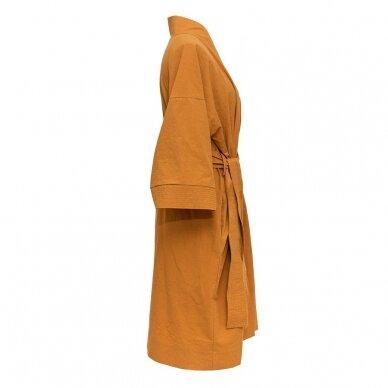Perkelio chalatas DecoFlux Kimono Casual Ochra 2