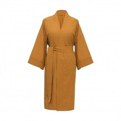 Perkelio chalatas DecoFlux Kimono Casual Ochra 3