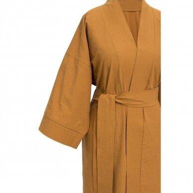 Perkelio chalatas DecoFlux Kimono Casual Ochra 4