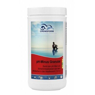 Granulės PH minus Chemoform AG, 1,5 kg