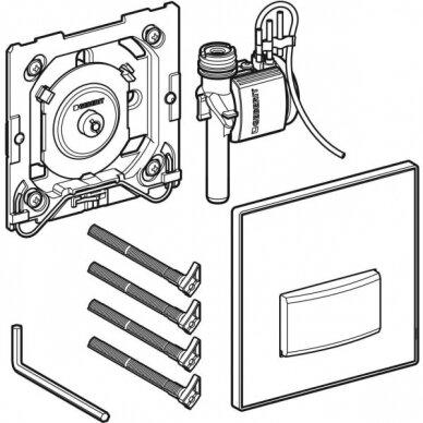 Pisuaro valdymo mygtukas Geberit Type 50 2