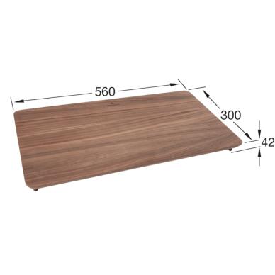 Riešutmedžio pjaustymo lentelė Villeroy & Boch 2