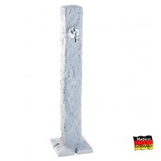 Plastikinė vandens kolonėlė, šviesaus Granito imitacija