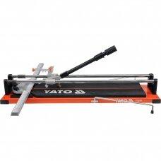 Plytelių pjaustymo staklės Yato 600mm, YT-3701