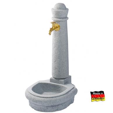 Plastikinė vandens kolonėlė su kriaukle Venezia, granito imitac.