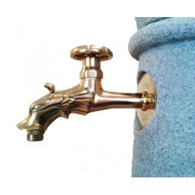 Plastikinė vandens kolonėlė su kriaukle Venezia, granito imitac. 2