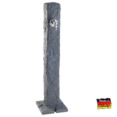 Plastikinė vandens kolonėlė, tamsaus Granito imitacija