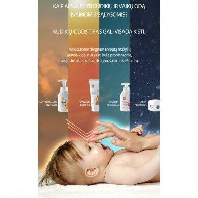 Plaukų ir kūno prausiklis K-MOM  kūdikiams ir vaikams (290 ml.) 3