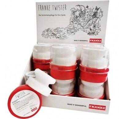 Plautuvių valymo priemonė Franke Twister (125 ml), dėžutė 12 vnt.