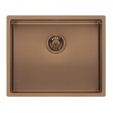 Plieninė plautuvė Reginox Miami 50 copper L