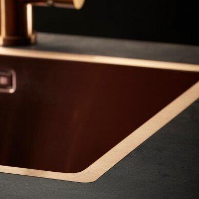 Plieninė plautuvė Reginox Miami 50 copper L 2