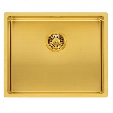 Plieninė plautuvė Reginox Miami 50 gold L