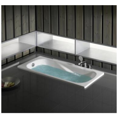 Plieninė stačiakampė vonia Roca Princess-N 170 cm 2