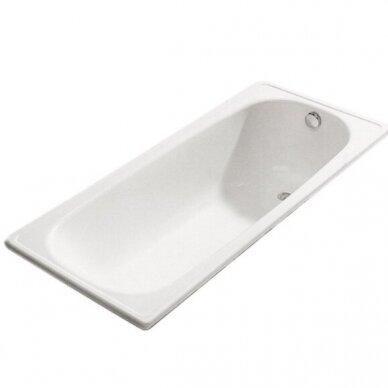 Plieninė vonia Jika Riga 120, 130, 140, 150, 160, 170 cm 2