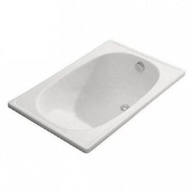 Plieninė vonia Jika Riga Mini 105 cm 2