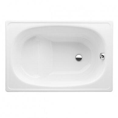 Plieninė vonia Jika Riga Mini 105 cm