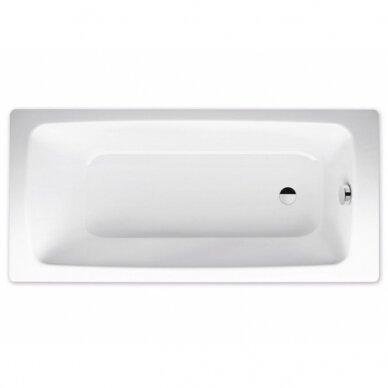 Plieninė vonia Kaldewei Cayono 170 cm su Easy Clean danga