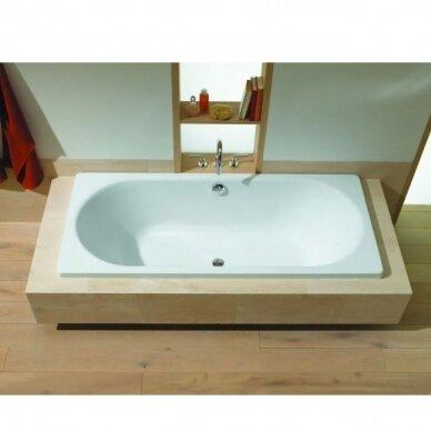 Plieninė vonia Kaldewei Classic Duo 160, 170, 180, 190 cm 2