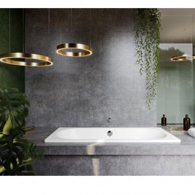 Plieninė vonia Kaldewei Classic Duo 160, 170, 180, 190 cm 4