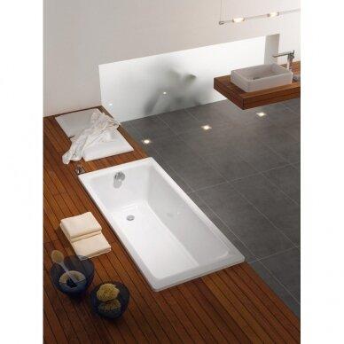 Plieninė vonia Kaldewei Puro 652 su EC, 170 cm 2