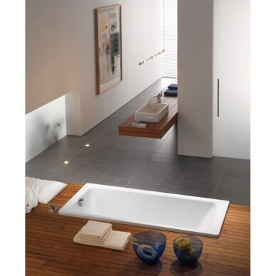 Plieninė vonia Kaldewei Puro 652 su EC, 170 cm 3