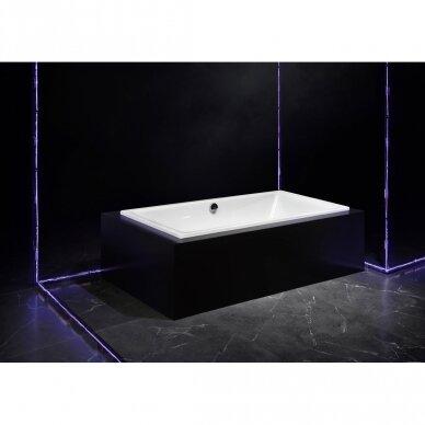 Plieninė vonia Kaldewei Puro 652 su EC, 170 cm 6