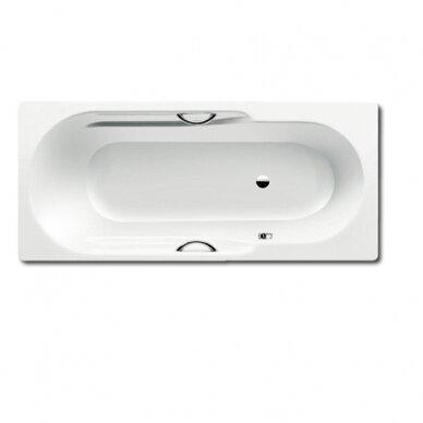 Plieninė vonia Kaldewei Rondo Star 170, 180 cm su skylėmis rankenėlėms
