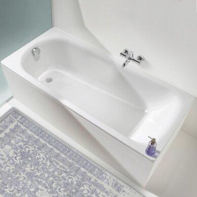 Plieninė vonia Kaldewei Saniform Plus 140, 150, 160, 170, 180 cm 2