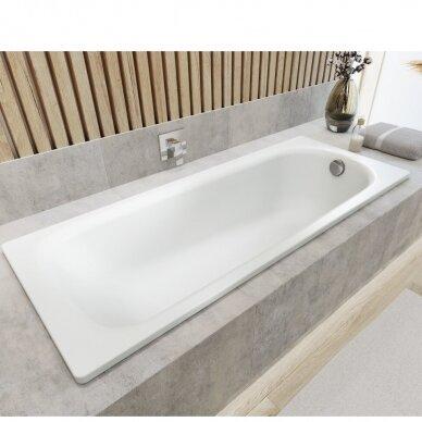Plieninė vonia Kaldewei Saniform Plus 140, 150, 160, 170, 180 cm su Easy Clean danga 2