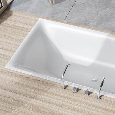 Plieninė vonia Kaldewei Silenio 170, 180 ir 190 cm 2