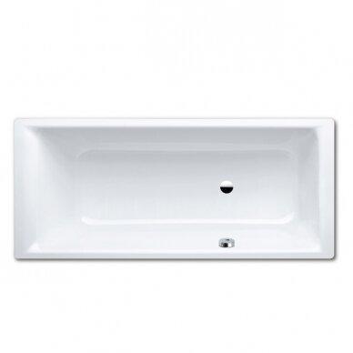 Plieninė vonia Kaldewei Puro 160,170,180,190 cm su šoniniu persipylimu