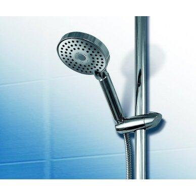 Plokščia dušo galvutė Ravak, 3 funkcijos, skersmuo 118 mm 2
