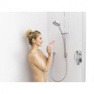 Plokščia dušo galvutė Ravak, 3 funkcijos, skersmuo 118 mm 4