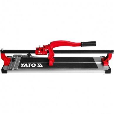 Plytelių pjaustymo staklės Yato 500mm, YT-3706