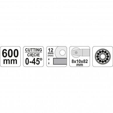 Plytelių pjaustymo staklės Yato 600 mm, YT-37036 6
