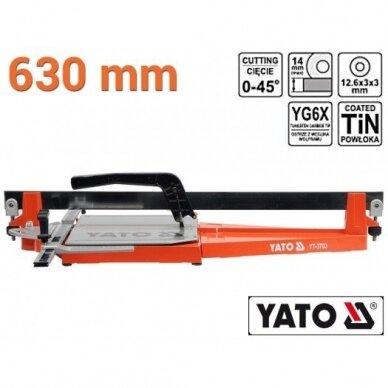 Plytelių pjaustymo staklės Yato 630mm, YT-3703 2